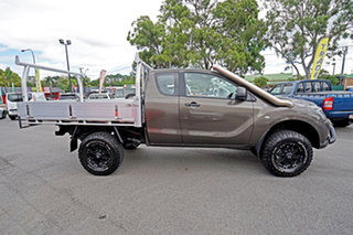 2017 Mazda BT-50 UR0YG1 XT Freestyle Grey 6 Speed Manual Cab Chassis