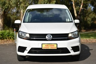 2017 Volkswagen Caddy 2KN MY18 TSI220 Maxi DSG White 7 Speed Sports Automatic Dual Clutch Van.