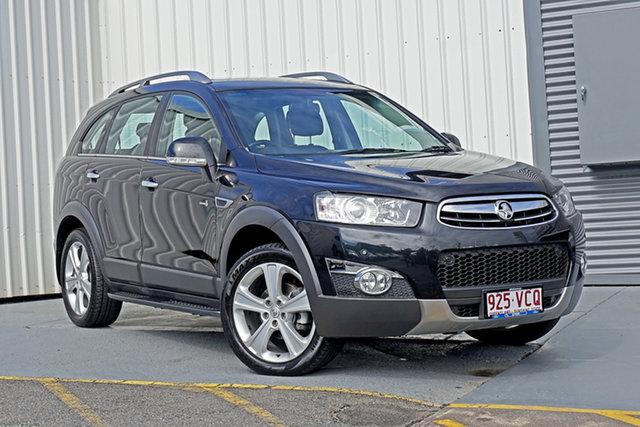Used Holden Captiva CG Series II MY12 7 AWD LX Springwood, 2012 Holden Captiva CG Series II MY12 7 AWD LX Black 6 Speed Sports Automatic Wagon