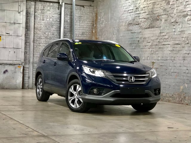 Used Honda CR-V RM MY14 DTi-L 4WD Mile End South, 2013 Honda CR-V RM MY14 DTi-L 4WD Blue 5 Speed Sports Automatic Wagon