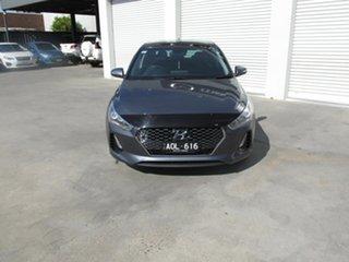 2017 Hyundai i30 GD3 Series II MY17 Premium DCT Grey 7 Speed Sports Automatic Dual Clutch Hatchback.