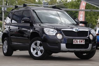 2012 Skoda Yeti 5L 77TSI DSG Black 7 Speed Sports Automatic Dual Clutch Wagon.