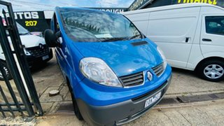 2014 Renault Trafic X83 Phase 3 Low Roof LWB Quickshift Blue 6 Speed Seq Manual Auto-Clutch Van.