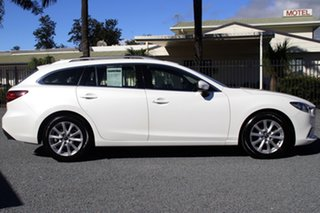 2013 Mazda 6 GJ1021 Touring SKYACTIV-Drive White 6 Speed Sports Automatic Wagon
