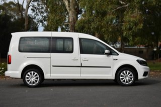 2017 Volkswagen Caddy 2KN MY18 TSI220 Maxi DSG White 7 Speed Sports Automatic Dual Clutch Van