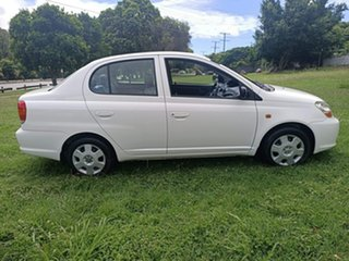 2003 Toyota Echo NCP12R MY03 White 4 Speed Automatic Sedan