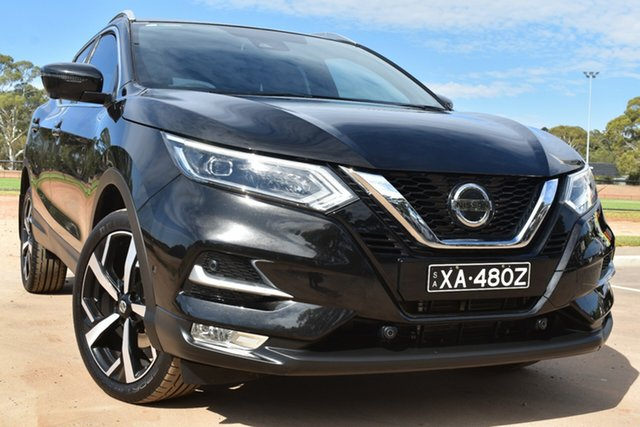 Used Nissan Qashqai J11 Series 3 MY20 Ti X-tronic St Marys, 2020 Nissan Qashqai J11 Series 3 MY20 Ti X-tronic Black 1 Speed Constant Variable Wagon