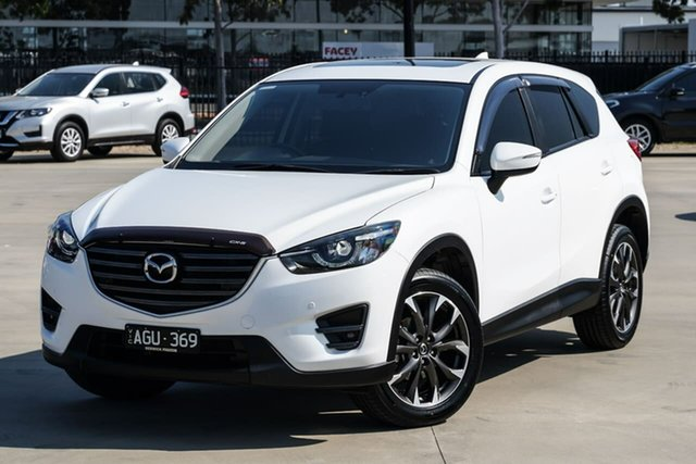 Used Mazda CX-5 KE1032 Grand Touring SKYACTIV-Drive AWD Narre Warren, 2015 Mazda CX-5 KE1032 Grand Touring SKYACTIV-Drive AWD White 6 Speed Sports Automatic Wagon