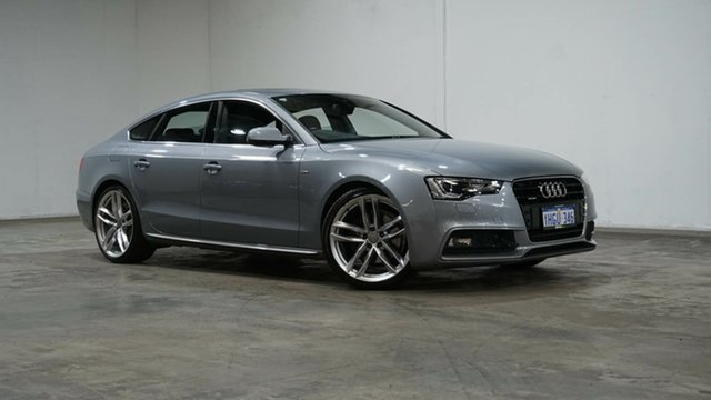 Used Audi A5 8T MY16 S Tronic Quattro Welshpool, 2015 Audi A5 8T MY16 S Tronic Quattro Grey 7 Speed Sports Automatic Dual Clutch Coupe