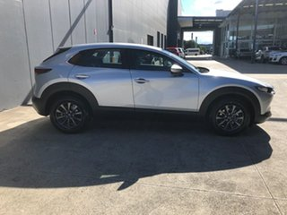 2021 Mazda CX-30 DM2W7A G20 SKYACTIV-Drive Pure Sonic Silver 6 Speed Sports Automatic Wagon.