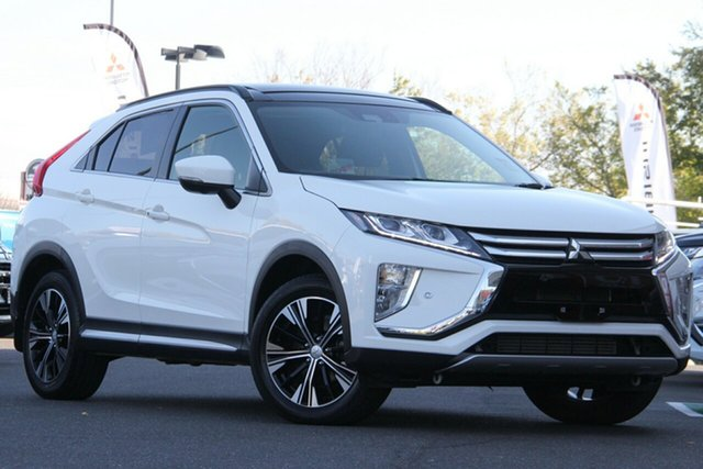 Used Mitsubishi Eclipse Cross YA MY19 Exceed 2WD Essendon North, 2018 Mitsubishi Eclipse Cross YA MY19 Exceed 2WD White 8 Speed Constant Variable Wagon