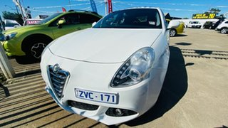 2013 Alfa Romeo Giulietta Series 0 MY13 Distinctive TCT White 6 Speed Sports Automatic Dual Clutch