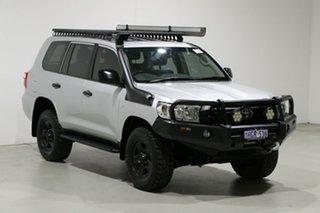 2015 Toyota Landcruiser VDJ200R MY13 GX (4x4) Silver 6 Speed Automatic Wagon
