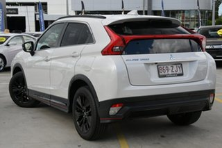 2018 Mitsubishi Eclipse Cross YA MY19 Black Edition 2WD White 8 Speed Constant Variable Wagon.