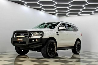 2018 Ford Everest UA II MY19 Ambiente (RWD 5 Seat) White 6 Speed Automatic SUV