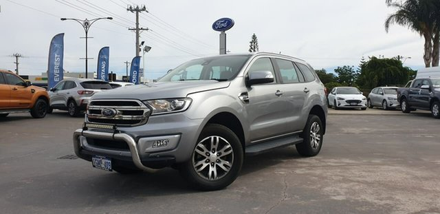 Used Ford Everest UA 2018.00MY Trend Morley, 2018 Ford Everest UA 2018.00MY Trend Aluminium 6 Speed Sports Automatic SUV