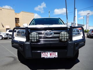 2015 Toyota Landcruiser VDJ200R MY16 GXL (4x4) Glacier White 6 Speed Automatic Wagon