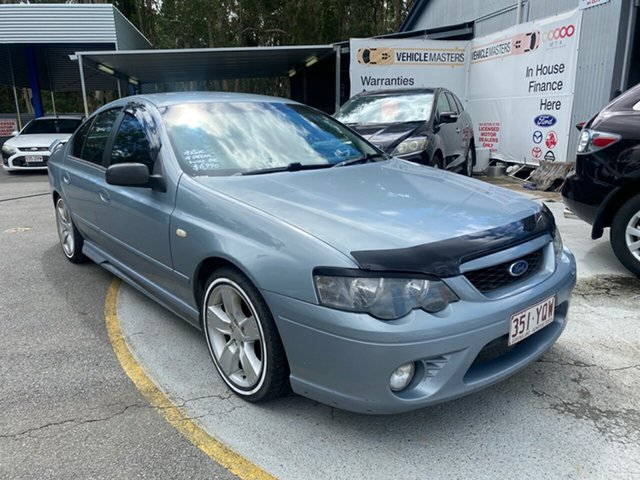 Used Ford Falcon Morayfield, 2008 Ford Falcon BF MKII XR6 Silver 4 Speed Auto Active Select Sedan