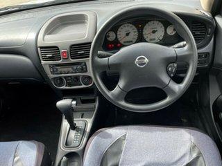 2005 Nissan Pulsar N16 MY04 ST White 4 Speed Automatic Sedan