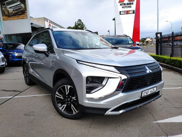 Demo Mitsubishi Eclipse Cross YB MY21 LS 2WD Hamilton, 2021 Mitsubishi Eclipse Cross YB MY21 LS 2WD Sterling Silver 8 Speed Constant Variable Wagon