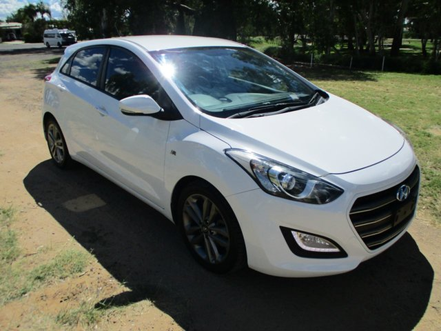 Pre-Owned Hyundai i30 GD5 Series 2 Upgrade SR Roma, 2016 Hyundai i30 GD5 Series 2 Upgrade SR 6 Speed Automatic Hatchback