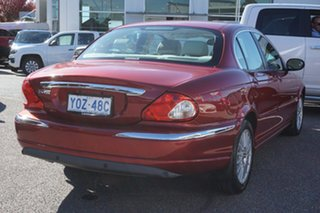 2006 Jaguar X-Type X400 MY06 LE Red 5 Speed Automatic Sedan