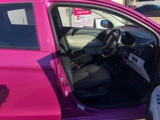2014 Mitsubishi Mirage LA MY14 ES Pink 5 Speed Manual Hatchback.