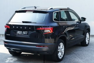 2019 Skoda Karoq NU MY20.5 110TSI DSG FWD Black 7 Speed Sports Automatic Dual Clutch Wagon.