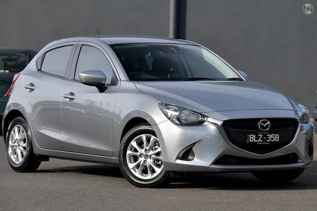Used Mazda 2 DJ2HAA Maxx SKYACTIV-Drive Moorabbin, 2018 Mazda 2 DJ2HAA Maxx SKYACTIV-Drive Silver 6 Speed Sports Automatic Hatchback