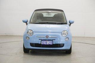 2014 Fiat 500C Series 3 Pop Dualogic Blue 5 Speed Sports Automatic Single Clutch Convertible.