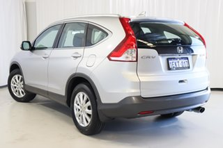 2014 Honda CR-V RM MY15 VTi 4WD Silver 5 Speed Sports Automatic Wagon.