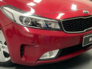 2016 Kia Cerato YD MY17 S Red 6 Speed Sports Automatic Hatchback