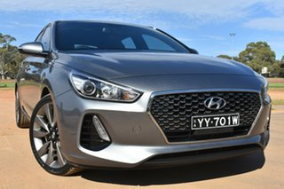 2017 Hyundai i30 PD MY18 SR Silver 6 Speed Manual Hatchback.