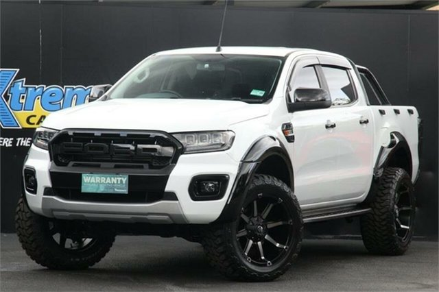Used Ford Ranger PX MkII XL Campbelltown, 2017 Ford Ranger PX MkII XL White 6 Speed Sports Automatic Utility