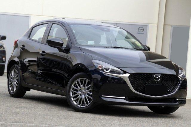 New Mazda 2 DJ2HAA G15 SKYACTIV-Drive GT Paradise, 2021 Mazda 2 DJ2HAA G15 SKYACTIV-Drive GT Jet Black 6 Speed Sports Automatic Hatchback