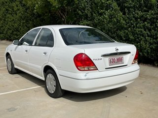 2005 Nissan Pulsar N16 MY2004 ST White 4 Speed Automatic Sedan