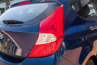 2015 Hyundai Accent RB2 MY15 Active Blue 6 Speed Manual Hatchback