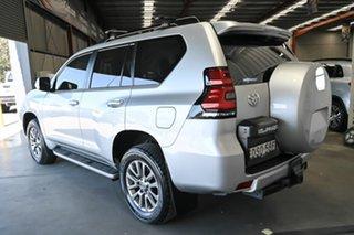 2017 Toyota Landcruiser Prado GDJ150R VX Silver 6 Speed Sports Automatic Wagon