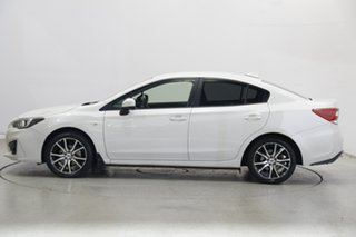 2018 Subaru Impreza G5 MY18 2.0i CVT AWD White Pearl 7 Speed Constant Variable Sedan.