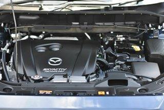 2018 Mazda CX-5 KF4WLA Touring SKYACTIV-Drive i-ACTIV AWD Blue 6 Speed Sports Automatic Wagon