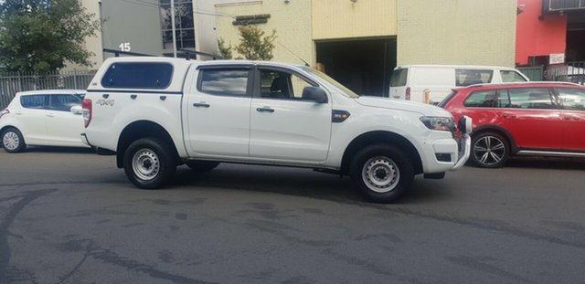 Used Ford Ranger PX MkII MY17 XL 3.2 (4x4) Bankstown, 2016 Ford Ranger PX MkII MY17 XL 3.2 (4x4) White 6 Speed Automatic Crew Cab Utility