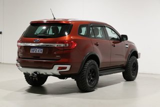 2015 Ford Everest UA Trend Red 6 Speed Automatic SUV