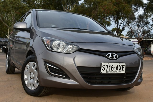 Used Hyundai i20 PB MY13 Active St Marys, 2013 Hyundai i20 PB MY13 Active Grey 4 Speed Automatic Hatchback