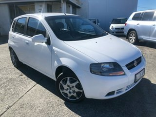 2008 Holden Barina TK MY08 Silver 4 Speed Automatic Hatchback.