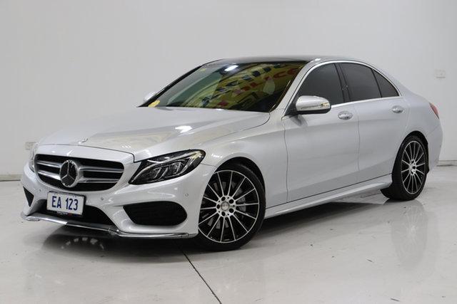 Used Mercedes-Benz C-Class W205 C250 BlueTEC 7G-Tronic + Brooklyn, 2015 Mercedes-Benz C-Class W205 C250 BlueTEC 7G-Tronic + Silver 7 Speed Sports Automatic Sedan