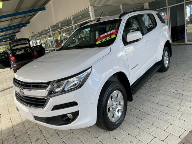 Used Holden Trailblazer LT Taree, 2019 Holden Trailblazer LT White Sports Automatic Wagon