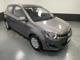 2013 Hyundai i20 PB MY13 Active Grey 6 Speed Manual Hatchback.