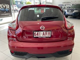 2015 Nissan Juke F15 Series 2 Ti-S X-tronic AWD Red 1 Speed Constant Variable Hatchback