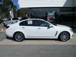 2014 Holden Calais VF V White 6 Speed Automatic Sedan.