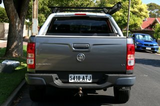 2012 Holden Colorado RG MY13 LX Crew Cab Grey 6 Speed Sports Automatic Utility